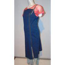 Vestido De Jean Embarazo Futura Mamá Axis