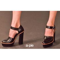 Zapatos Con Plataforma American Pie Otoño Invierno 2015