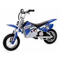 Razor Dirt Rocket Moto Mx350 24v Mini Moto Electrica Azul