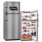 Heladera Kohinoor Con Freezer 416 L Acero Inox Kda 4394