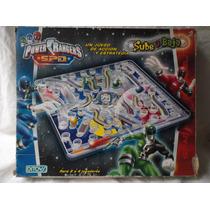 Juego Power Rangers Spd Sube Y Baja Ditoys Tipo Ludo Automat