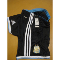 Short Seleccion Argentina Negro Espectacular