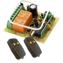 Kit Receptor Control Remoto Para Porton Linea Gelb