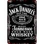 Carteles Antiguos Chapa Gruesa 20x30cm Jack Daniels Dr-073