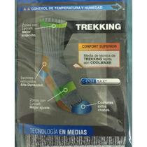 Medias Trekking Clima Cálido Coolmax Confort Stylo S M L