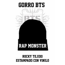 Bts Bangtan Boys Rap Mosnter Rapmon Kpop Army Gorro Rocky