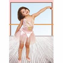 Disfraz De Bailarina Rosa Varios Talles Candela