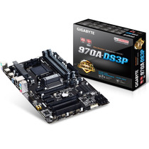 Mother Gigabyte Ga-970a Amd Am3 Am3+usb 3.0 3 Años