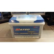 Bateria 12x75 Mateo 12 Volt 75 Amp Para Diesel Y Nafta