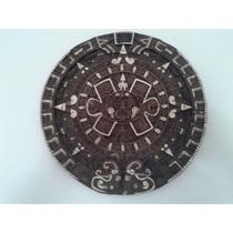 Calendario De Piedra Maya Original
