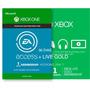 Combo Xbox Live Gold + Ea Access Por 30 Días - Cuotas Fijas