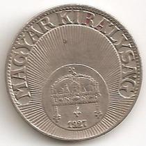 Hungria Reino, 10 Filler, 1927. Vf++ / Xf-