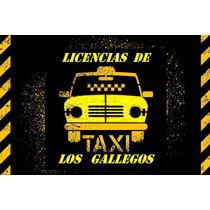 Vendo Licencia De Taxi-financiacion- Taxis Con/sin Licencia-