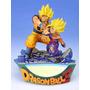 Dragonball Z Diorama Goku & Gohan Kamehameha Derrota A Cell