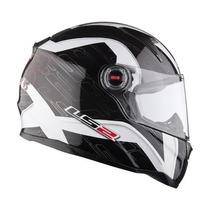 Casco Ls2 Ff396 Lyon Fibra De Vidrio Y Air-go Devotobikes