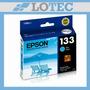 Cartucho Epson Cyan 133 T22 T25 Tx120 Tx123 Tx125 T133220