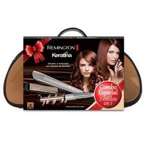 Combo Remington Plancha + Ondulador C/ Bolso De Regalo