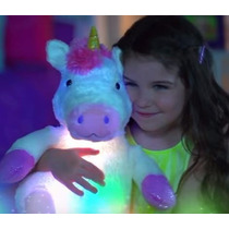 Unicornio Musical Con Luz Peluche Para Dormir Lullabrites Tv