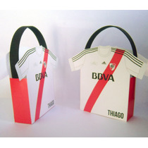 Bolsitas De Papel Personalizadas - Equipo Futbol - Souvenirs