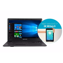 Notebook Bangho Intel Core I7 8gb 1tb W10 + Tablet De Regalo