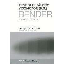 Test Guestaltico Visomotor Completo - L. Bender - Paidos