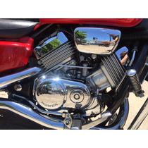 Moto Honda Magna 750 Custom Clasica Roja 1994 Armotorrad