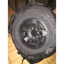 Llanta Rockstar 2  R18 Con Cubierta Toyo 0km R/t 35 X 12,5