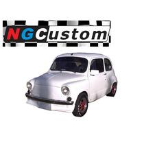 Spoiler Fiat 600 Con Portapatente Delantero