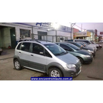 Fiat Idea Adventure 1.8 Tomo Menor Valor Financio Adaglio