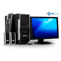 Computadora Pc Amd Dual Core Gammer 4gb 500gb Mmtech