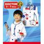Disfraz Set Doctor Con Accesorios Cotillón Fiesta Cumpleaños
