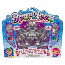 Sparkleez Princess - Sugarville - Corona Para Pintar