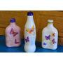 Botellas Decorativas De Vidrio Adorno Florero Varios Modelos