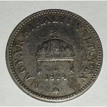 Moneda Hungria 20 Filler 1894