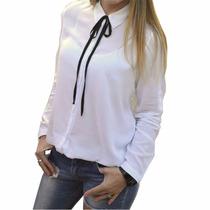 Camisas Con Moño Mujer The Big Shop