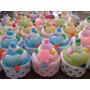 30 Souvenirs Toalla De Mano Y Jaboncito Modelo Cupcake