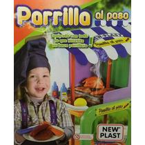 New Plast Parrilla Al Paso Con Acc Tuni 10613