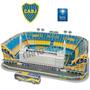 Estadio Bombonera Cancha De Boca Puzzle 3d Maqueta Nanostad