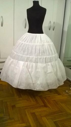 miriñaque - enagua para vestidos novia-quince extra amplio!! - $ 650