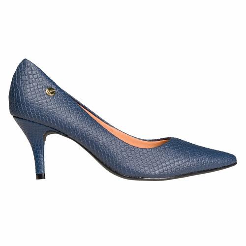 849e6eaa Zapato Mujer Clasico Vizzano Sintetico Azul Reptil $799 fxVC3 ...
