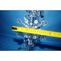 10 Estrella Cristal Hielo Navidad Arbolito Retro Movil Med