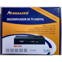 Receptor Tv Digital Abierta Tda Hd Usb + Antena + Cable Hdmi