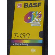 Casette De Video Vhs Basf 9hs - T130 Ver $ X Cant En Aviso