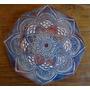 Cuadro Mandala Tallado En Madera