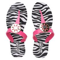 Ojotas Coca-cola Shoes Fashion Zebra Sportline