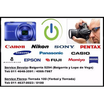 Reparación Servicio Técnico Cámaras Digitales Nikon Sony Etc