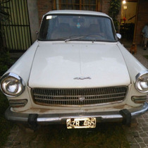 Peugeot 404 1975, Excelente Estado. Papeles Al Dia
