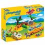 Educando Playmobil Línea 1-2-3 Juego African Safary 5047