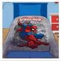 Frazada Simil Piel Spiderman Hombre Araña 1 Y 1/2 P Plaza