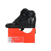 Nike Black Taco Interno Dama. - Envío Gratis Oca